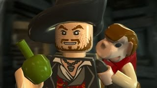 LEGO Pirates of the Caribbean Walkthrough Part 10 - The Kraken (Dead Man