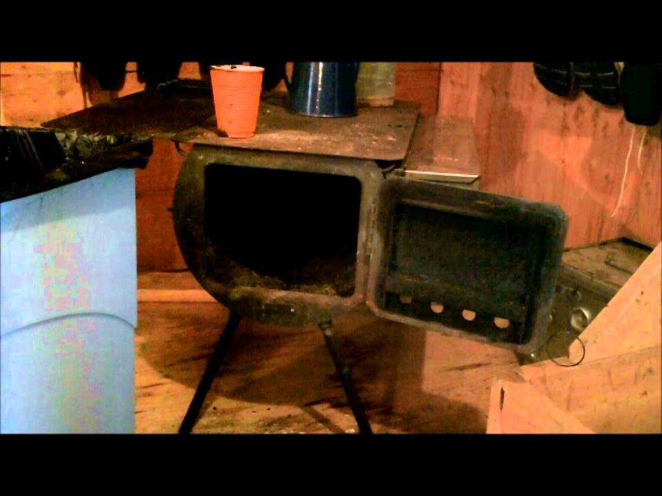 Tent Chores The Yearly Wood Stove Cleaning - YouTube