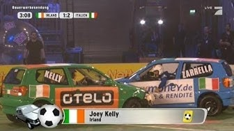 Gruppe A: Irland - Italien - TV total Autoball