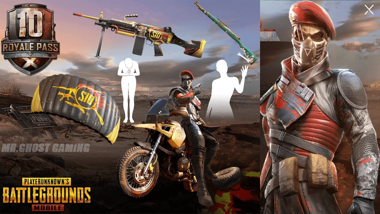 Pubg Mobile Season 10 Royal Pass Leaks Skins Costumes