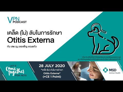 VPN Podcast EP.24  เคล็ดไม่ลับในการรักษา Otitis Externa