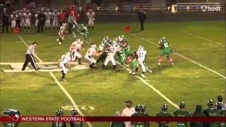 Western State Football | Jonathan Ponce Highlights