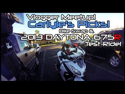 Year Review on the Triumph Daytona  Special Edition  Model.(Vlog)