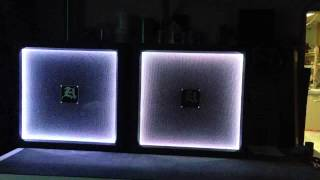 Aftershock Designs- 360 Led Guitar Cab Demo- Outline In Color