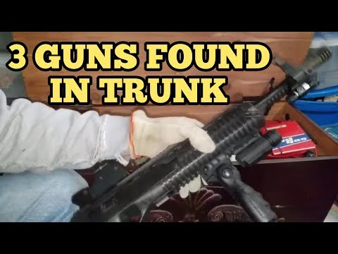 FOUND GUNS I Bought Abandoned Storage Unit Locker / Opening Mystery Boxes Storage Wars Auction