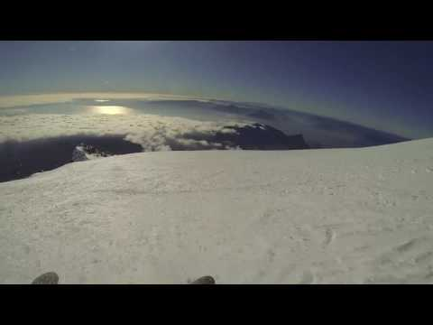 Sliding down out of control - Villarica Volcano / Chile