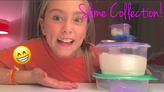 SLIME COLLECTION!!
