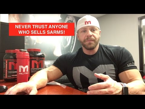 Don't Trust Anyone Selling SARMS