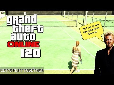 GTA ONLINE TOGETHER #120: Let's Play Tennis [LET'S PLAY GTA V]