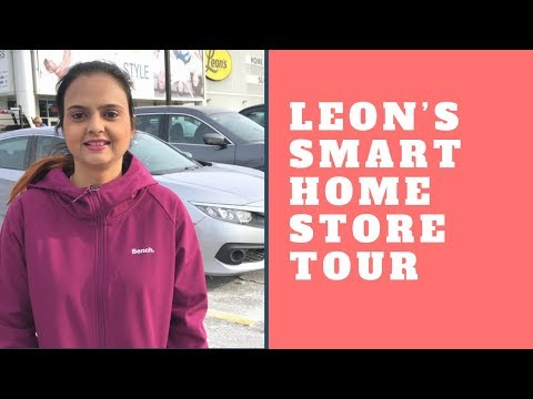 Leon's Home Furniture Store Tour In Canada -Indian Vlogger In Canada