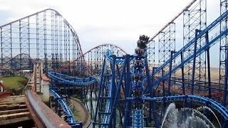 Big Dipper Front Seat on-ride HD POV Pleasure Beach, Blackpool