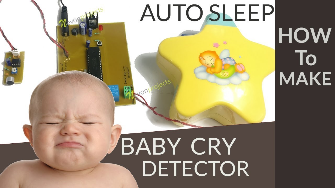 Auto Baby Cry Detector Sleep Music Player PIC Project