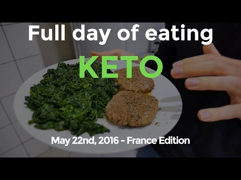 Full day of eating Keto - Low Carb Ketogenic Diet