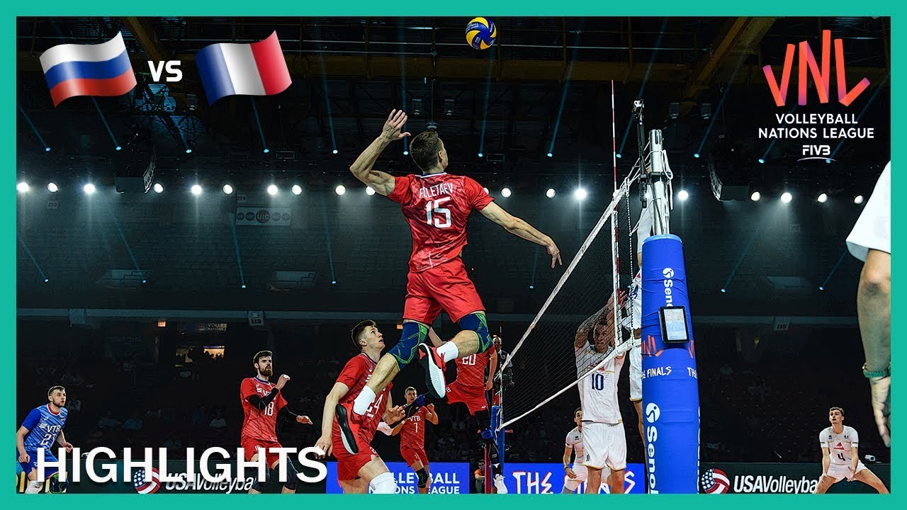 Russia vs France | Highlights | 11 Jul | Men's VNL 2019