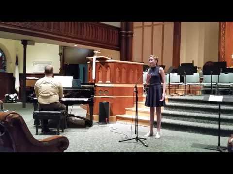 Kateri Condon sings Think of Me