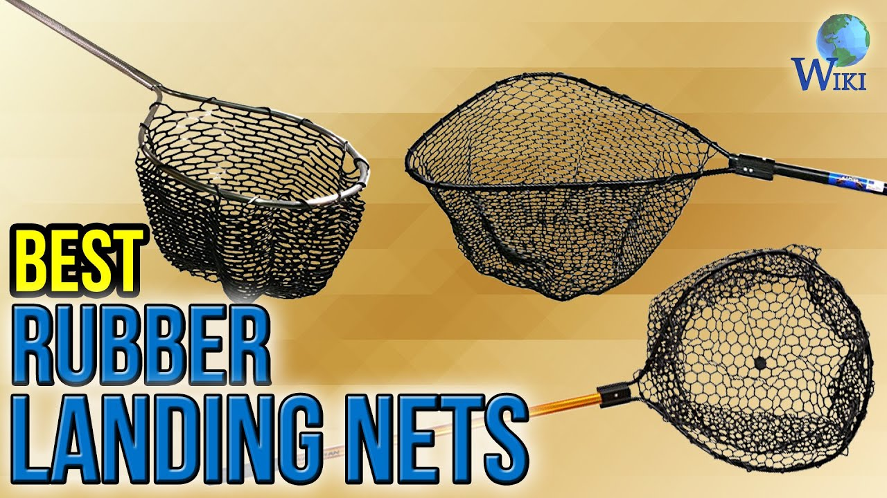 6 best rubber landing nets 2017 youtube for Rubber fishing nets