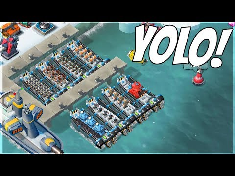 Boom Beach Can YOLO Attacks Beat MAX Players??