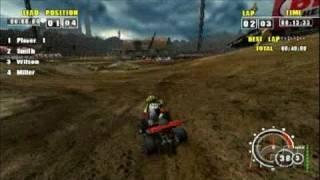 ATV Offroad Fury Pro Sony PSP Gameplay - Speedy