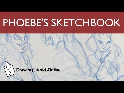 Phoebe's Sketchbook