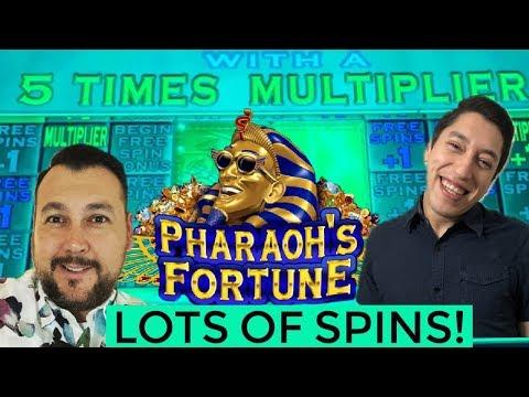 SPECTACULAR PICKING PHARAOHS FORTUNE 5X MULTIPLIER BONUS