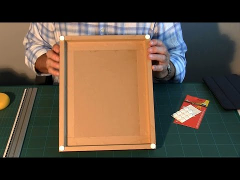 Conservation Framing: 12 - The Back of the Frame