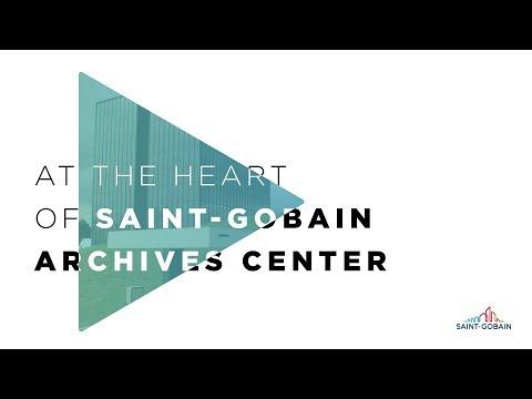 Au coeur du centre d'archives de Saint-Gobain : vidéo