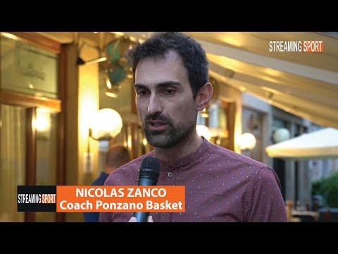 Nicolas Zanco alla cena di fine stagione Venerdì 28 maggio 2021