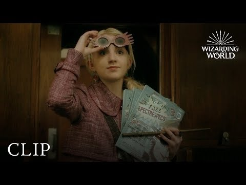 Luna Lovegood To The Rescue | Harry Potter And The Half-Blood Prince