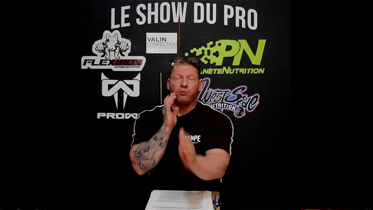 Le Show du Pro - Les anabolisants, le retour après plusieurs années d'arrêt.