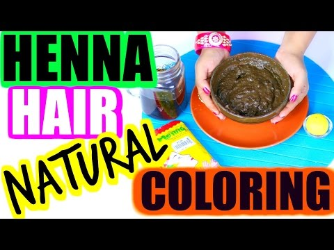 How To Mix Henna For Hair -Cover Grey hair | SuperPrincessjo