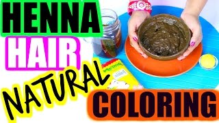 How To Mix Henna For Hair -Cover Gray hair | SuperPrincessjo