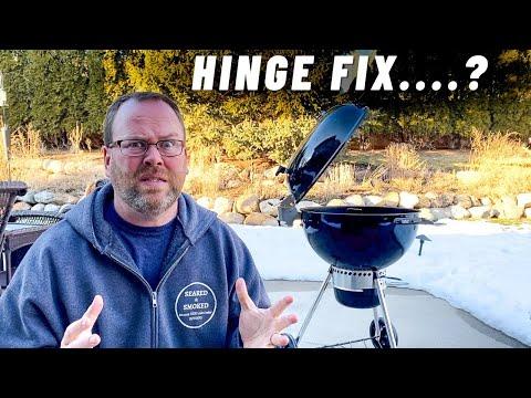 Did Weber fix my Hinge Problem?  Weber Master Touch Premium