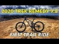 First Trail Ride on my 2020 Trek Remedy 9.8 | Mountain Biking Laguna Beach, California