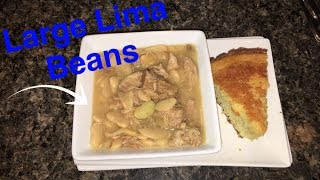 How to Make: Crockpot Large Lima Beans