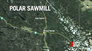 Water Supply Repair Continues at Polar Sawmill