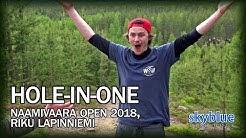 Riku Lapinniemi Disc Golf Hole In One | Naamivaara Open 2018, Round 2