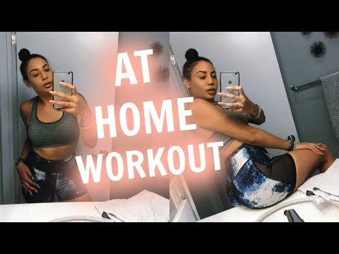 My At Home Ab & Stretching Workout + NIKE HAUL