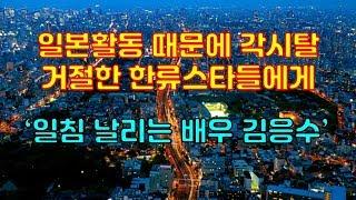 일본활동 때문에 각시탈 거절한 한류스타들에게 일침 날리는 배우 김응수