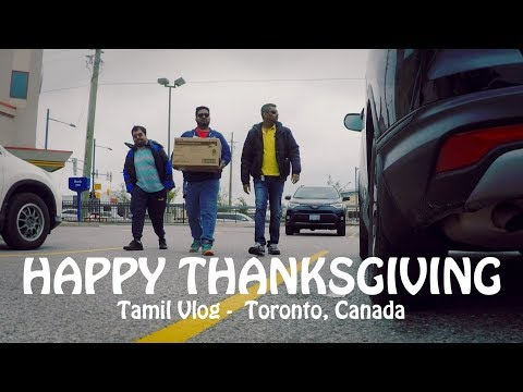 Thanksgiving day | Toronto | Canada | Tamil Vlog