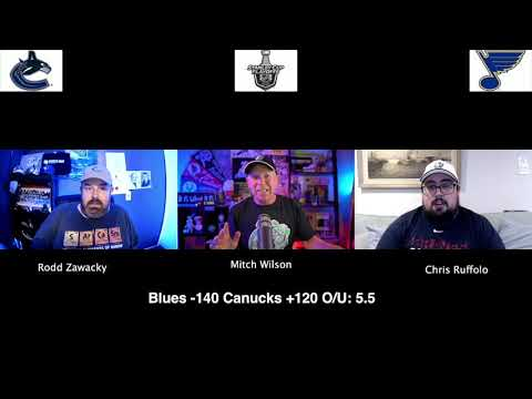 St. Louis Blues vs Vancouver Canucks 8/14/20 NHL Pick and Prediction Stanley Cup Playoffs