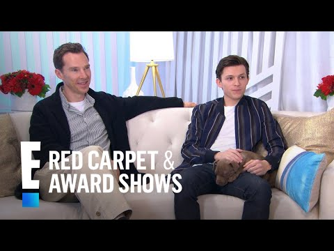 """Tom Holland & Benedict Cumberbatch Talk Filming """"Infinity War"""" 