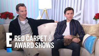 "Tom Holland & Benedict Cumberbatch Talk Filming ""Infinity War"" 