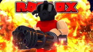 ROBLOX TOWER BATTLE - RED / COMMANDO SOLO CHALLENGE