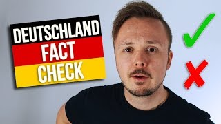 Germany Fact Check: True or False? | Get Germanized | #1