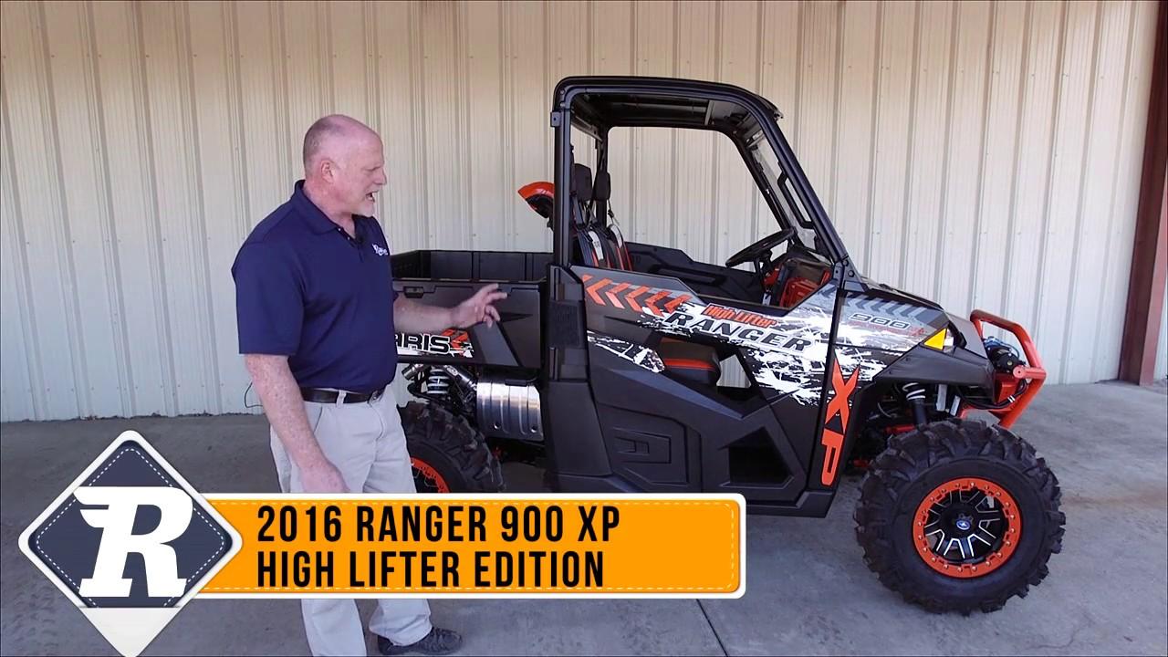 Polaris Ranger Xp 900 High Lifter Edition