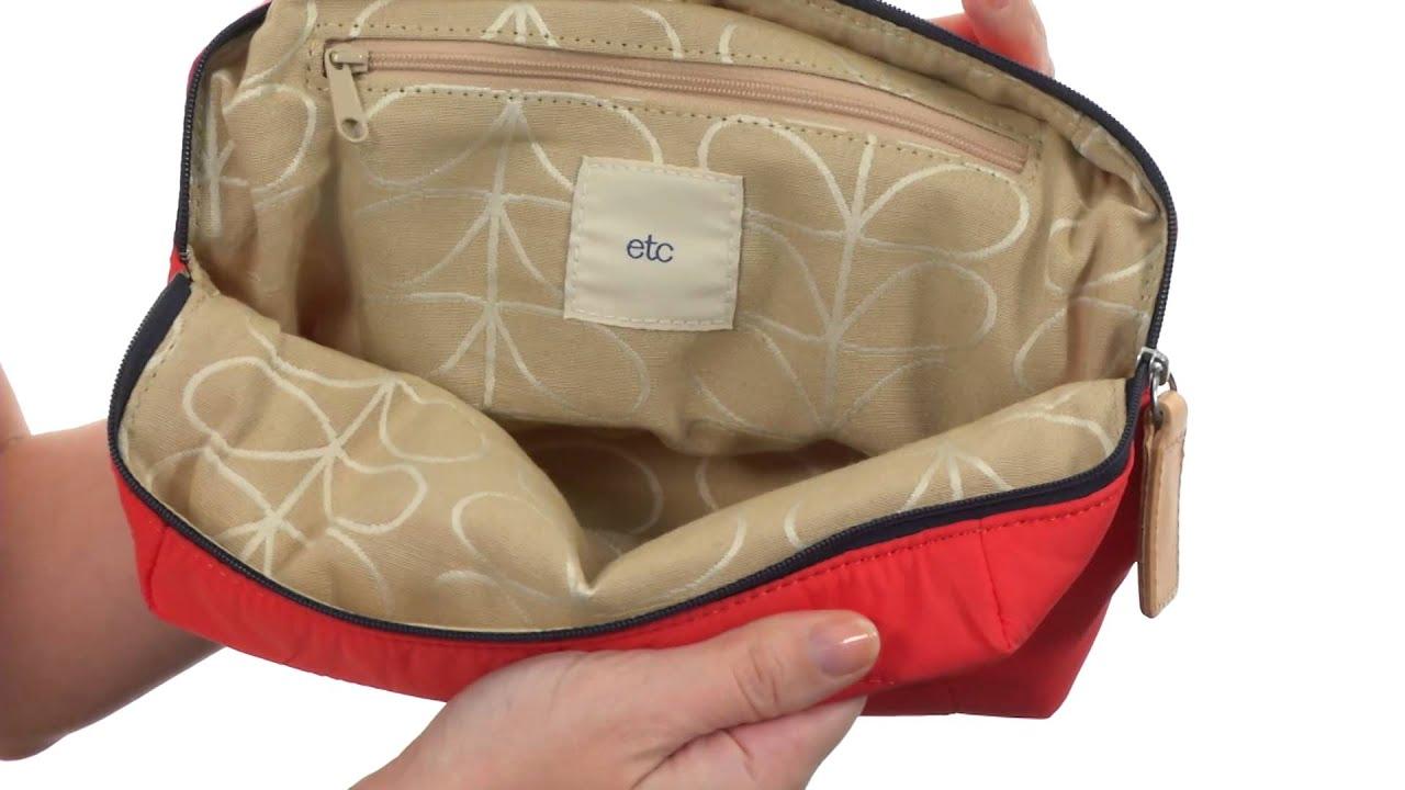 Orla Kiely Stem Quilted Nylon Wash Bag SKU:8477236