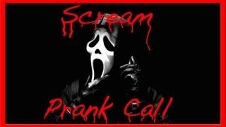Scream Prank Call 4, Ghostface Phone Trolling! AMAZING VOICE