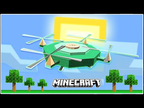 Fully functional Drones in Minecraft