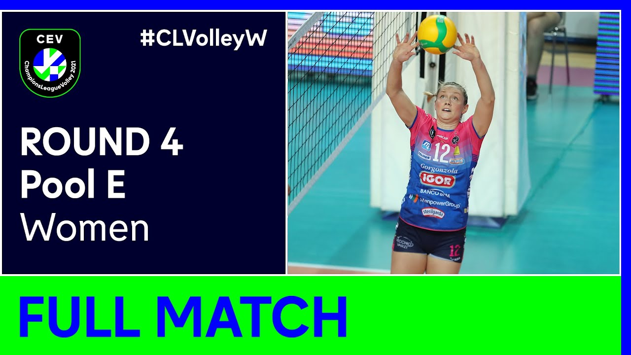 VK UP OLOMOUC vs. Igor Gorgonzola NOVARA - CEV Champions League Volley 2021 Women Round 4