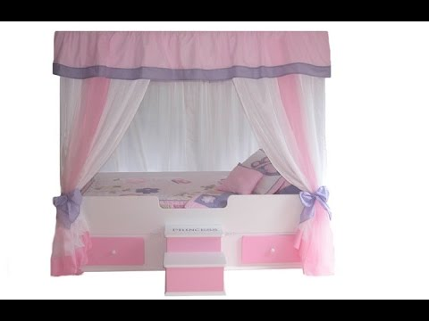 awesome canopy beds for girls idea